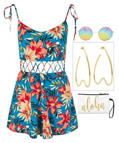 """""""Well aloha"""" by rubydo2 ❤ liked on Polyvore featuring Topshop and Simone Rocha"""