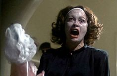 """BEST LINES EVER! """"No… wire… hangers. What's wire hangers doing in this closet when I told you: no wire hangers EVER?"""" – Joan Crawford (Faye Dunaway) to daughter Christina (Mara Hobel) in Mommie Dearest, 1981 By Richard Crouse « Cult Movies, Movies To Watch, Horror Movies, Scary Movies, No More Wire Hangers, Kristina Rose, Faye Dunaway, The Victim, The Villain"""