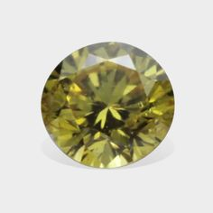 0.07 ctw, 2.45 mm, Natural Canary Yellow, SI3 Clarity, Round Brilliant Diamond #diamonds #canaryyellowdiamonds #yellowdiamonds #fancydiamonds @dmzdiamonds Canary Yellow Diamonds, Brilliant Diamond, Clarity, Natural, Nature, Au Natural