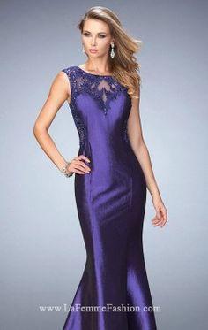 Beaded Mermaid Gown by Gigi by La Femme 22723