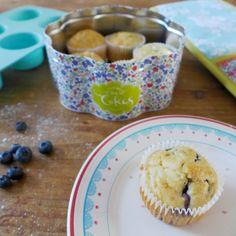 Ashley Thomas Design: Sugar Free Blueberry Muffins