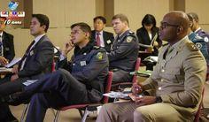 Como parte do programa de treinamento organizado pela JICA, a comitiva de policiais militares do Brasil visitou Oizumi.