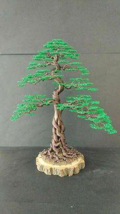 "Handmade Green wire Christmas tree sculpture #""metaltree"" #""metaltreesculpture"""