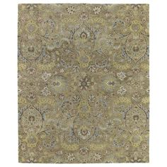 @Overstock.com - Christopher Kashan Gold Hand-tufted Rug (4' x 6') - This Christopher Kashan rug is inspired by classic style but created with a new twist. The rug features a borderless, traditional pattern that mixes beautifully with today's formal, casual and transitional decor to complete a timeless masterpiece.  http://www.overstock.com/Home-Garden/Christopher-Kashan-Gold-Hand-tufted-Rug-4-x-6/8360791/product.html?CID=214117 $161.99