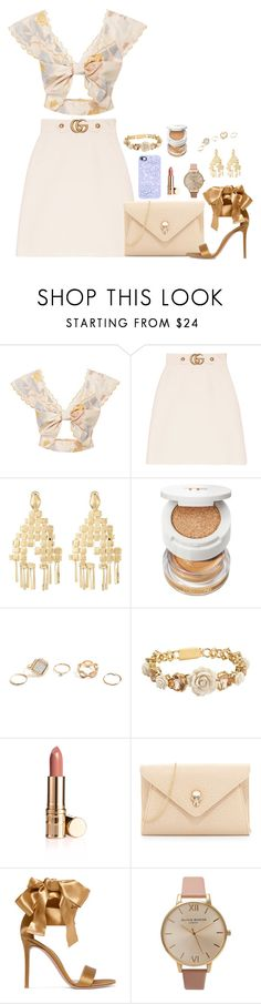 """Angel Sing"" by claire8ken ❤ liked on Polyvore featuring Alice McCall, Gucci, Aurélie Bidermann, Tom Ford, GUESS, Prada, Urban Originals, Gianvito Rossi and Olivia Burton"