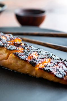 Most recipes for miso-glazed fish are for salmon, because fatty fish are well suited for this preparation and salmon is particularly delicious Nobu Matsuhisa is known for his miso-marinated black cod, which he marinates for two to three days I can't imagine finding fish fresh enough to marinate for that long, so in my recipe I marinate the fish for a few hours before broiling and then finishing, if necessary, in the oven