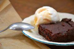 Bezlepkové vegan fazolové brownies -- Glutenfree Vegan Adzuki Bean Brownies