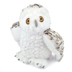 If you need to know how many licks it takes to get to the center of a snowflake, you should ask the Plush Snowy Owl 12 Inch Stuffed Bird Cuddlekin By Wild Republic. Measuring 12 inches in size, our stuffed snowy owl is extremely durable! Snowy Owl, Plush Animals, Age 3, Bedtime, Eagles, Bald Eagle, Snowflakes, Safari, Stuffed Toy
