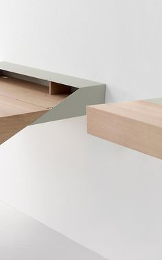 A Smart, Wall-Mounted Desk That Hides Your Work In A Flash