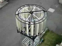 Savonius Wind Turbine Bicycle Wheel | NEXT VIDEO >