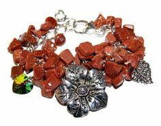 Bransoletka Piasek Pustyni i Swarovski #Swarovski #jewelry #bizuteria