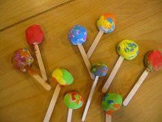 ijsjes van klei