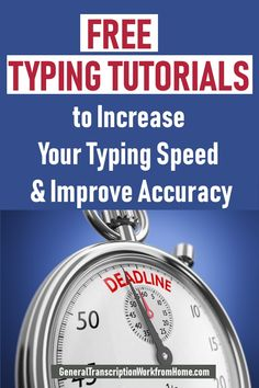 Free Typing Tutorials to Increase Your Typing Speed and Improve Accuracy - Work from Home Jobs, Online Jobs & Side Hustles Earn Money From Home, Make Money Blogging, Make Money Online, How To Make Money, Typing Skills, Typing Hacks, Educational Websites, Educational Crafts, Work From Home Moms