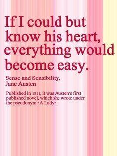 Jane Austen Quote....