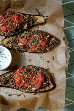 Stuffed Eggplant with Lentils and Millet | Vegetarian Times