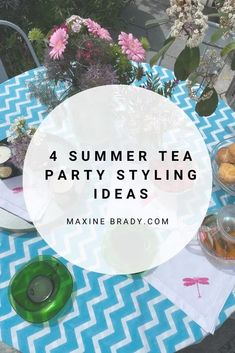 How to style the perfect summer tea party to enjoy with family & friends by interior stylist Maxine Brady Interior Design Advice, Interior Stylist, Ahmad Tea, Outdoor Garden Rooms, Perfect Cup Of Tea, Love Home, Small Gardens, Summer Garden, Easy Diy Projects