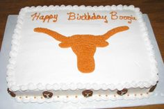 texas longhorns cake ideas - Google Search