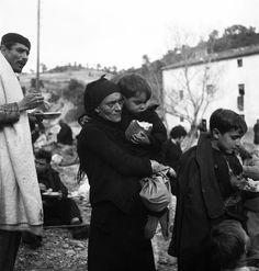 Emile Savitry. Réfugiés espagnols Perpignan 1939