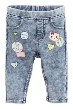 7ab8fb3ce285 Baby Girl Trousers   Leggings - Comfy and stretchy