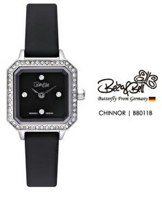 CHINNOR BB011B   | Meterail:316L Stainless Steel  | Movement: MIYOTA 5Y20  | Case Size: 20mm×26mm  | Band Size: 10mm  | Band: Genuine Leather / Enamel coated / Leopard Genuine / Mesh  | Crown: Swarovski Crystal Crown  | Swarovski Crystal: 48 Pcs  | Dial: MOP  | Glass: Jewel Cutted Mineral Crystal  | Water Resistance : 3 ATM