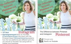 Should You Go on #Pinterest or #Instagram for Your Business? Seven Facts to Consider   Agora Pulse   #socialmedia