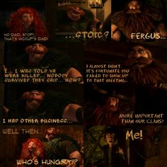 Apparently Stoic and Fergus use to know each other...