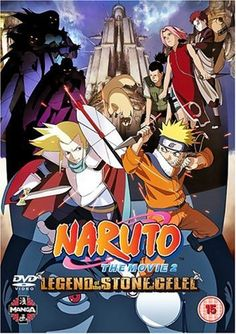 Naruto The Movie 2: Legend Of The Stone Of Gelel UK Import: Amazon.de: DVD & Blu-ray