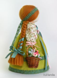 Fabric Dolls, Stuffed Toys Patterns, Art Dolls, Christmas Ornaments, Holiday Decor, Handmade, Crafts, Baby Dolls, Tela