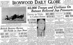 Ironwood Daily Globe, 17 April 1942 worldwartwo.filminspector.com