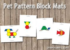 Pet Pattern Block Mats