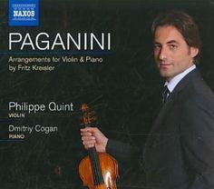 Niccolo Paganini - Paganini/Kreisler: La Campanella, Le Streghe, La Cenerentola & Tancredi Variations