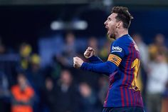 Villarreal CF v FC Barcelona - La Liga Villarreal Cf, Messi Goal Video, Lionel Messi, Fc Barcelona, Messi Goals, Bff, Celebrities, The League, High Resolution Picture
