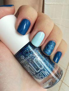 Blu nails