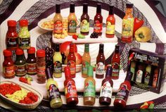 A good brand for pepers and sauces.  http://www.www.amazonpepper.com