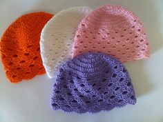 Cappellino cotone neonato a di Handmadesfiopi su Etsy