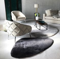 Artful, Yet Welcoming, Our Dali Chairs, Roxx Rugs U0026 Torino Tables Define The