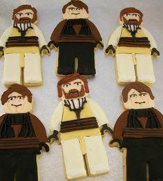 Seeing Stars: Star Wars Lego Cookies Tutorial