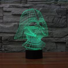 Led Table Lamps Sunny Usb Novelty Gift Star War 3d Table Lamp Led Night Light Home Decor Touch Switch Desk Light Bb8 Darth Vader Yoda Batman Halloween Discounts Price