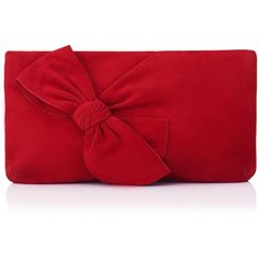 L.K. Bennett Fay Red Suede Clutch (£245) ❤ liked on Polyvore featuring bags, handbags, clutches, party purses, envelope clutch bag, party clutches, suede leather handbags and red purse
