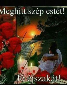 Jó éjszakát! Retro Hits, Beautiful Red Roses, Good Night, Humor, Movie Posters, Painting, Art, Album, Photos