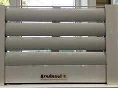 la nueva persiana trmica para grandes dimensiones permite la entrada de aire y luz incluso estando