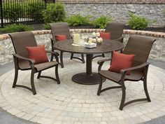Telescope Casual Villa Wicker Aluminum Dining Set by Telescope Casual. $3444.32. Shop for aluminum dining sets at PatioFurnitureBuy.com today and save! When looking for top quality made in USA Telescope Casual furniture or Telescope furniture products for your outdoor furniture needs, this Telescope casual villa wicker casual aluminum dining set (VILLADS) will provide years of enjoyment for your furniture decor.