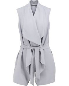 Designer Clothes, Shoes & Bags for Women Online Shops, Grey Vest, Wrap Dress, How To Wear, Stuff To Buy, Shopping, Clothes, Collection, Dresses