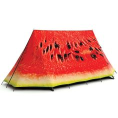 Why, yes...that is a watermelon tent.