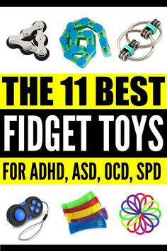Looking for the best fidget toys for kids with special needs like autism, ADD, ADHD, SPD, OCD, and/or anxiety? Look no further! We've rounded up 11 of the best fidgets for children to help keep little hands busy while promoting a sense of calm and improving focus and concentration. Perfect for strengthening the muscles in the hands for motor skills like handwriting, these fun fidget toys will help children, teachers, and parents both in the classroom and at home.