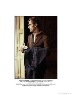 Clement Chabernaud para SKP Magazine Autumn Issue
