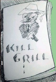 """Cover Book Pulp """"Kill Grill Vol 1: Edition bilingual english spanish buy in Amazon"""