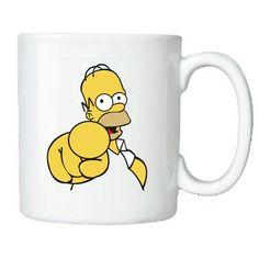 Homer Simpson  Visite nossa página no Facebook - Rô Canecas & Camisetas Personalizadas  Faça já seu pedido