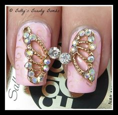 Born Pretty Store Butterfly Wing Rhinestone Nail Studs Review: http://www.bettysbeautybombs.com/2014/11/02/born-pretty-store-butterfly-wing-rhinestone-nail-studs-review/