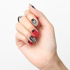 Wanted… Red or Alive Holiday Nails Wraps http://tattify.com/product/wanted-red-or-alive/